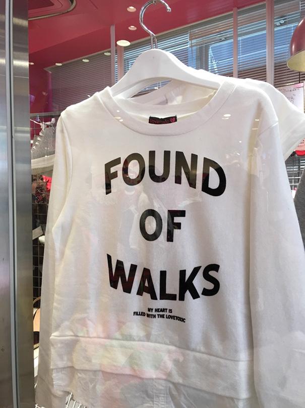 Found Of Walks
