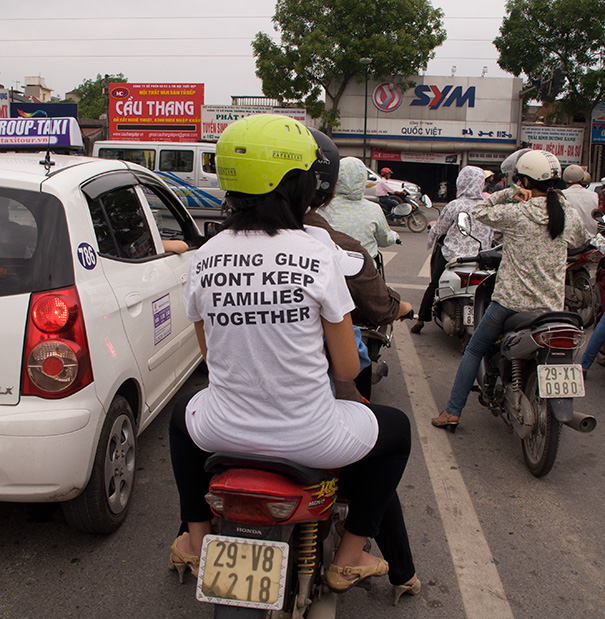 Funny English-Language Slogans On T-Shirts Is Nothing New In Asia, But This One Really Stood Out To Me