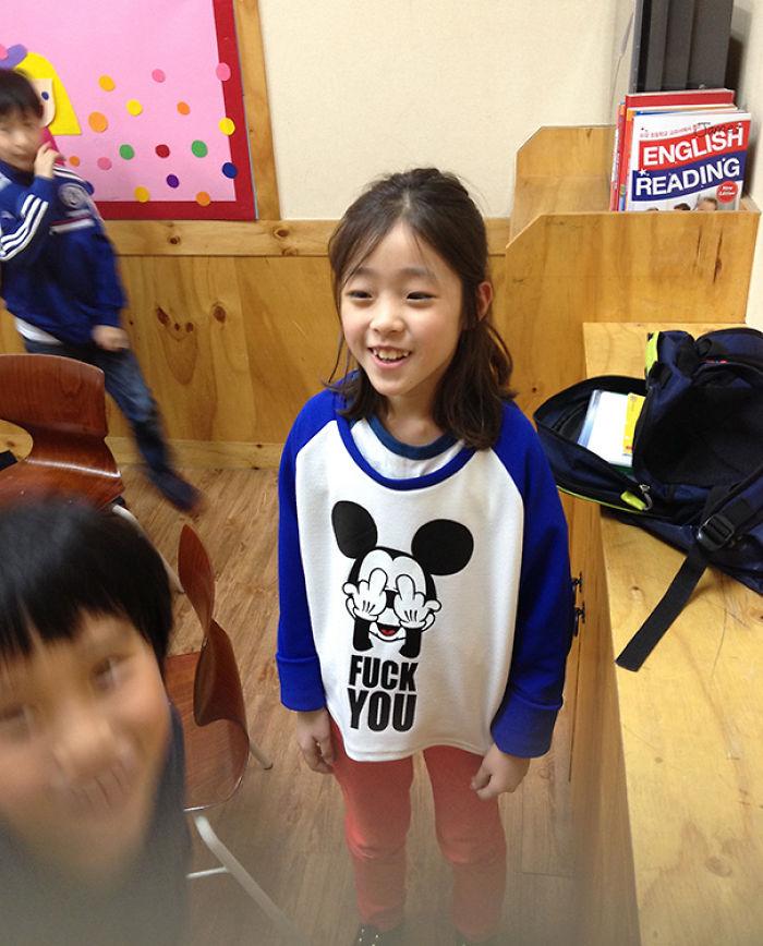 Teaching English In Korea. Best Shirt Ever? Yup!