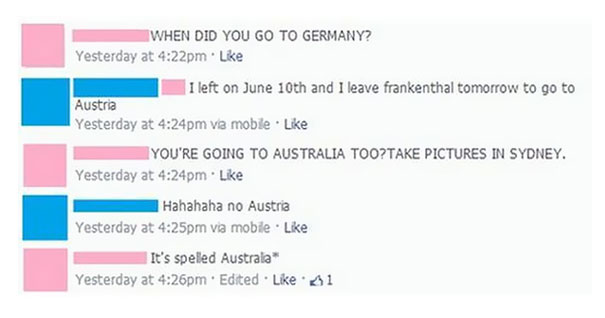 It's Spelled Australia*