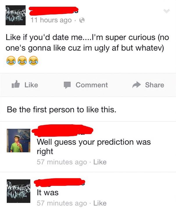 Facebook Boy Can Predict The Future