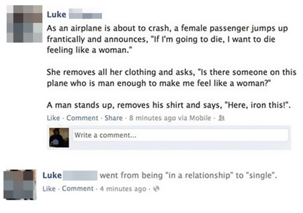 Luke And His Relationship Status