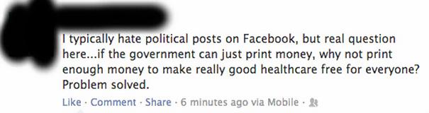 I Hate Political Posts On Facebook, But...