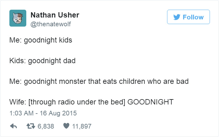Funny Fatherhood Tweets