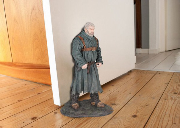 Oh Cool, I've Found A Great New Door Stop For The House