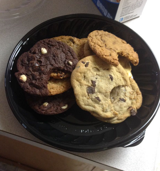 My Husband Is A Jerk. Yes Every Cookie Has A Bite Mark In It