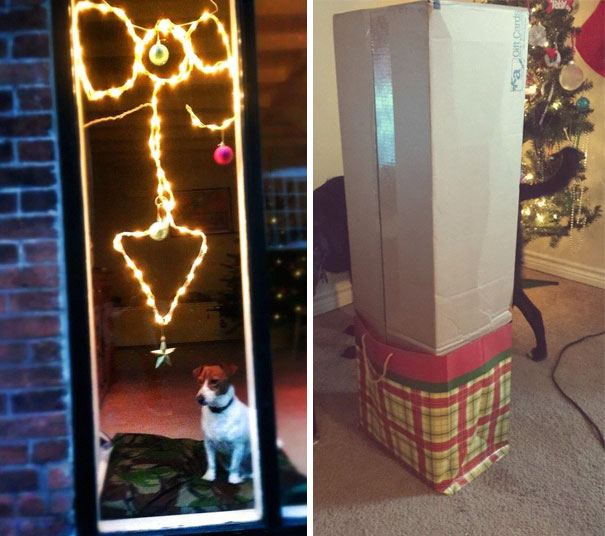 Two Different Homes. Two Different Husbands. Same Christmas Feeling