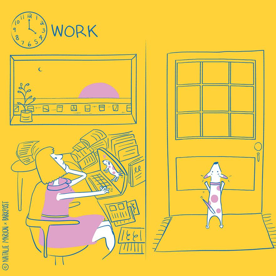 funny-illustrations-dog-mom-daily-life-natalie-marion-2