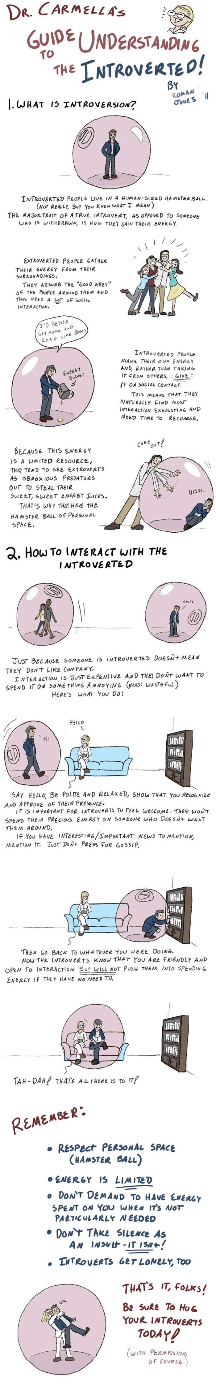 Funny Introvert Comics