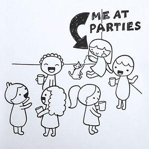 Funny Introvert Comics