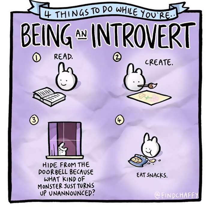 20+ Comics That Introverts Will Understand