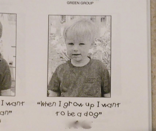 My Little Brother Was Quite Ambitious In Preschool