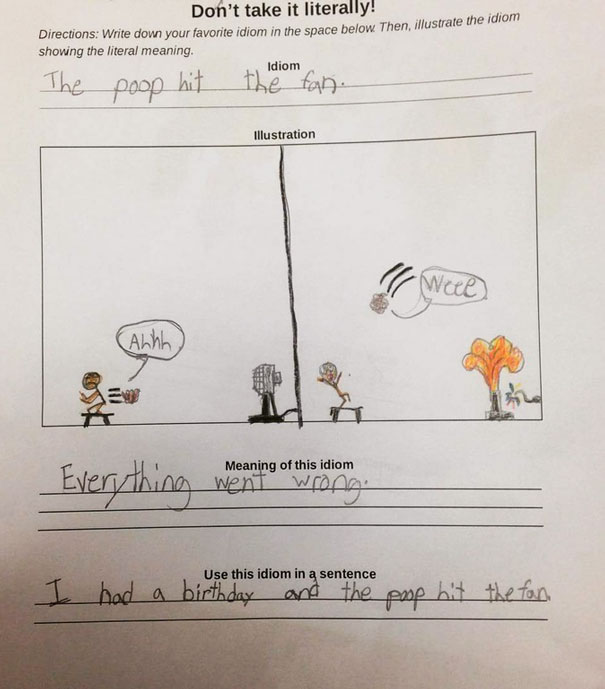 My Friend Teaches Fifth Grade, And She Was Given This By A Student Today. This Kid Is Going places