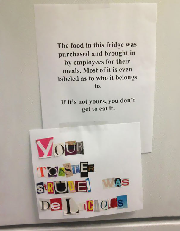 These Are Posted On My Office's Fridge