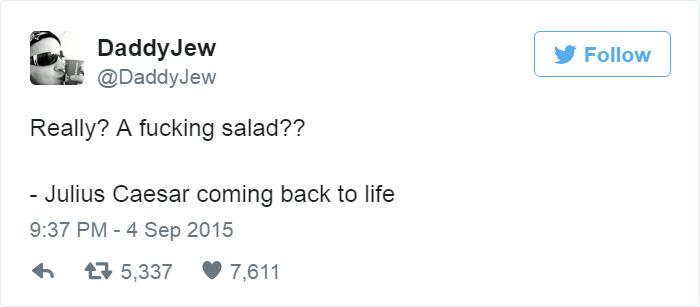 Funny Food Tweet