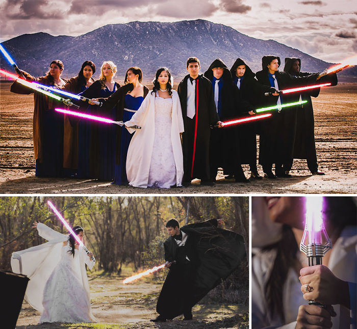 Star Wars Themed Wedding