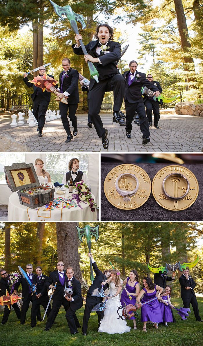 World Of Warcraft Themed Wedding