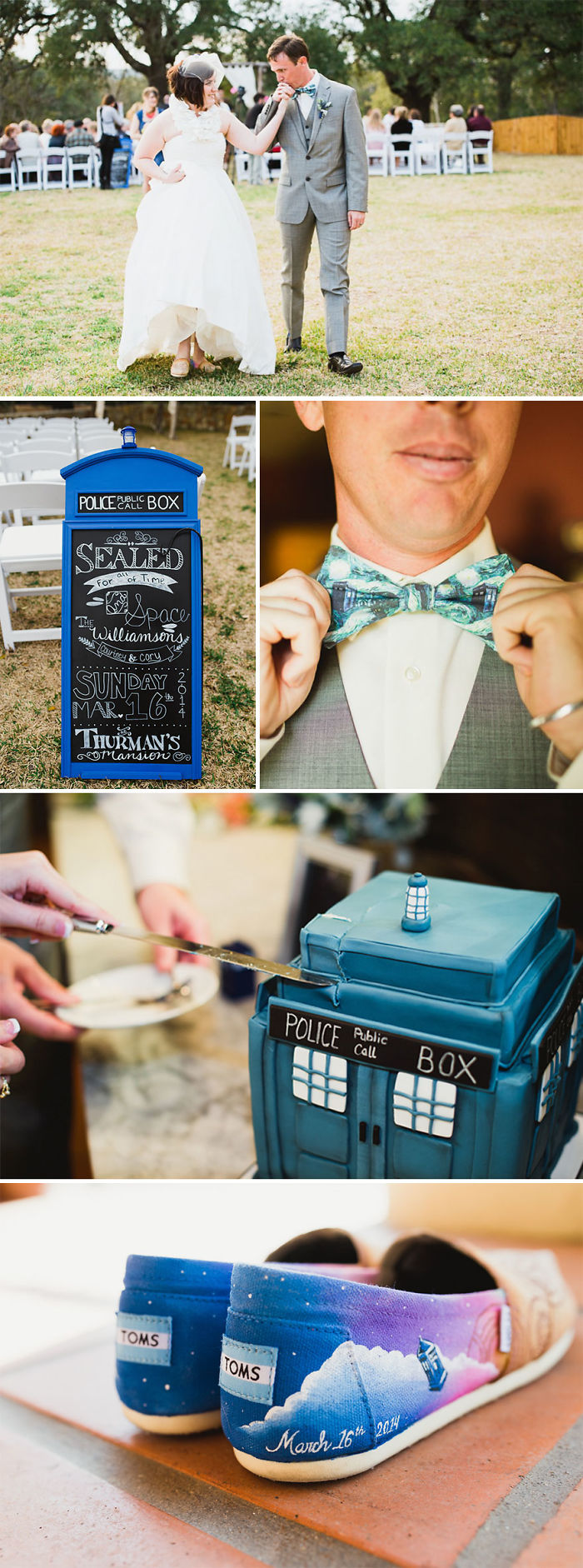 Doctor Who Themed Wedding