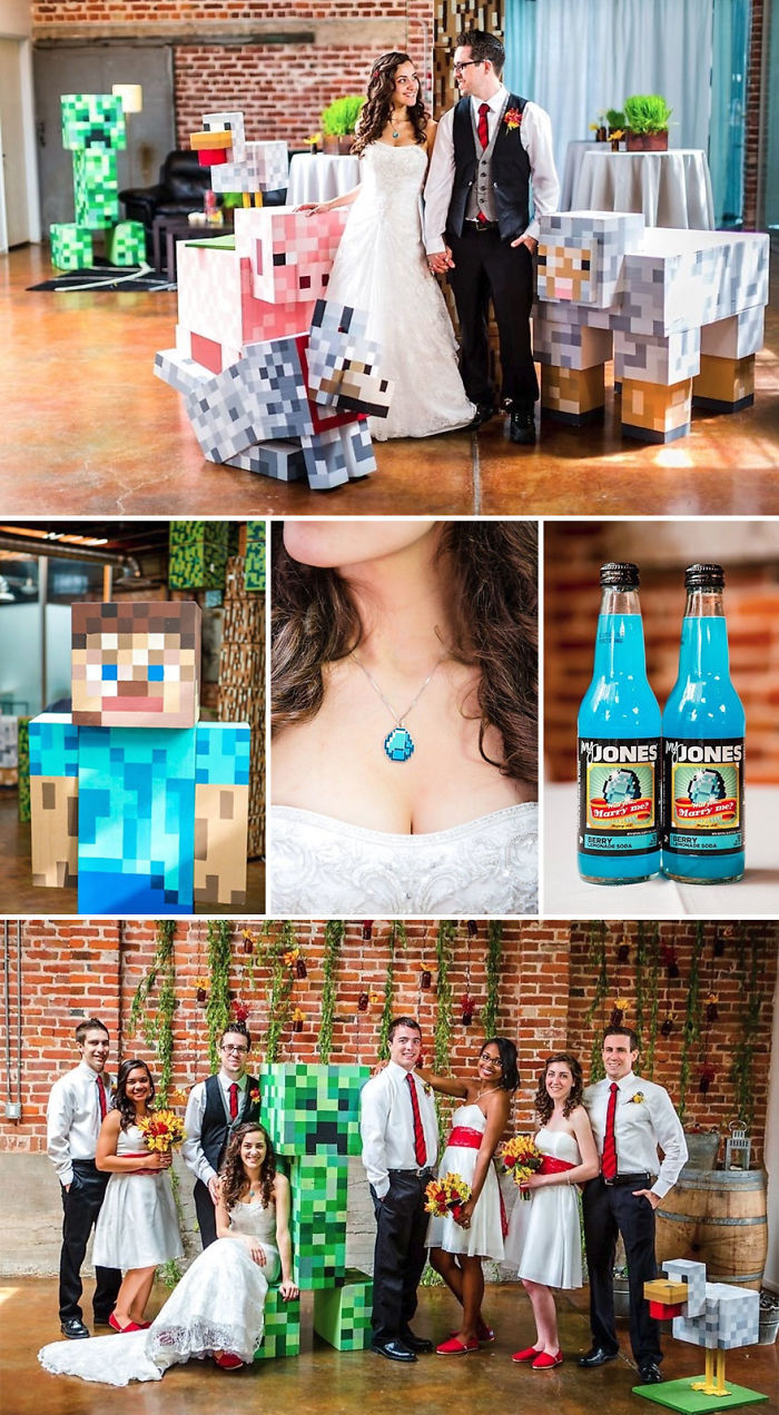 Minecraft Wedding