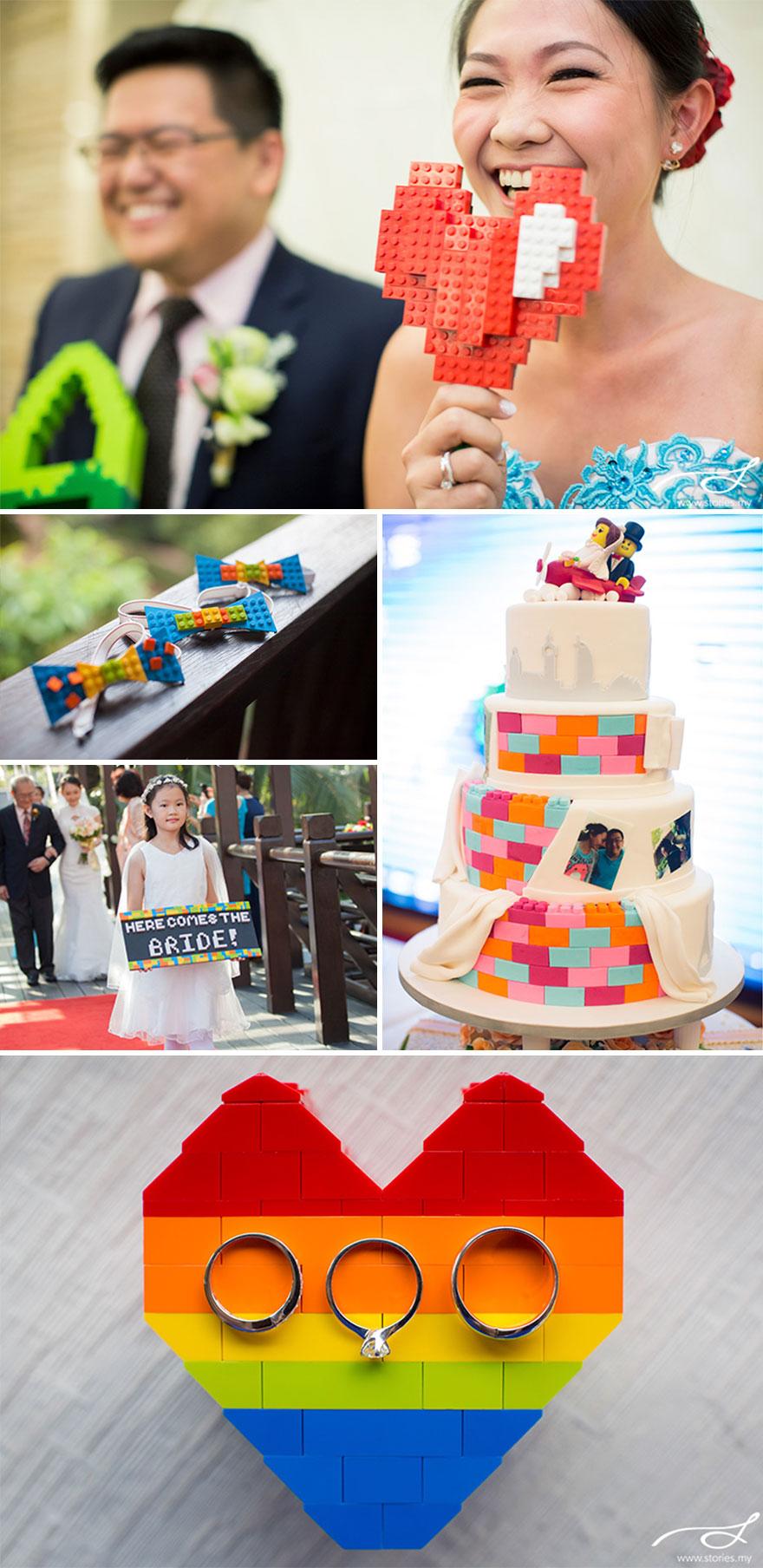 Lego Themed Wedding