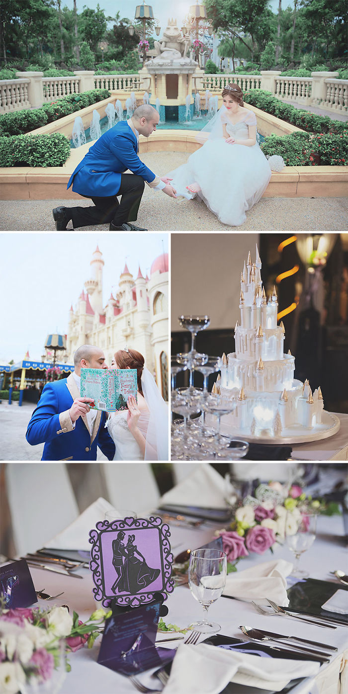 Cinderella Themed Wedding