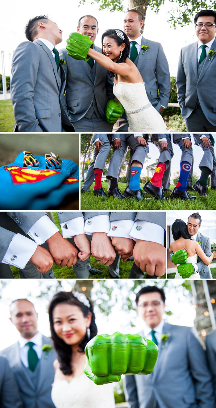 Marvel Themed Wedding