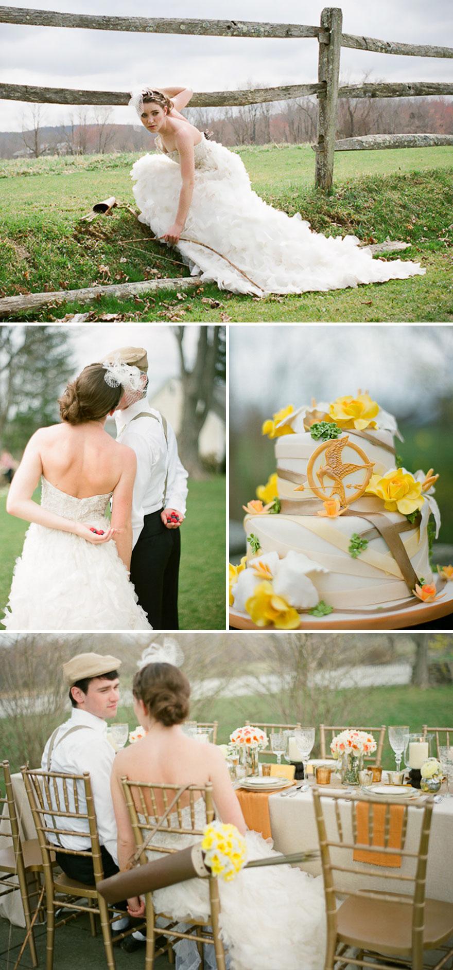 Hunger Games Themed Wedding