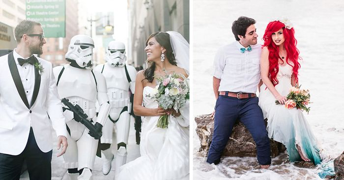 22 Of The Most Epic Geeky Weddings Ever Bored Panda