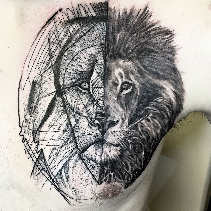 Sketch Tattoos By Frank Carrilho Show The Beauty Of Imperfection ...