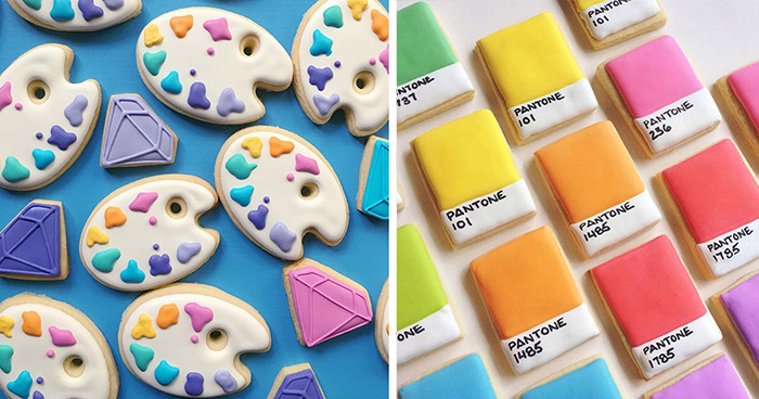 When Graphic Designer Uses Design Skills To Make Cookies (87 Pics)