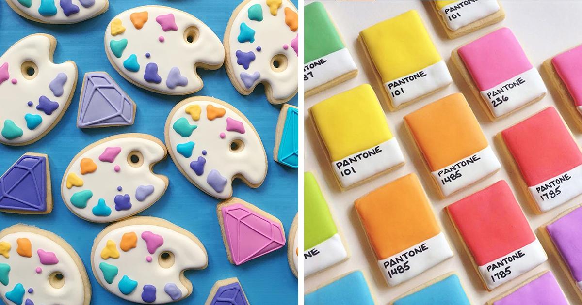 When Graphic Designer Uses Design Skills To Make Cookies (15+ Pics)