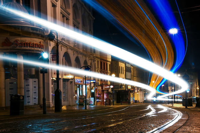 I Spent Six Months Shooting Long Exposure To Make Trams Look Like UFO's