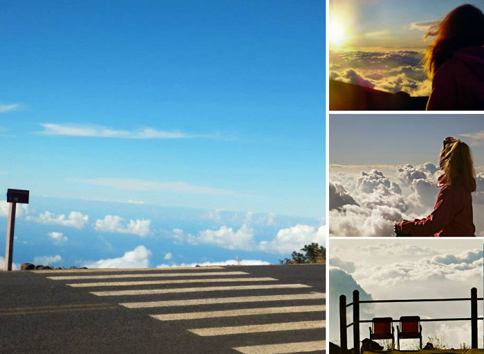 Rest Above The Clouds. The Most Relaxing Place In Hawaii