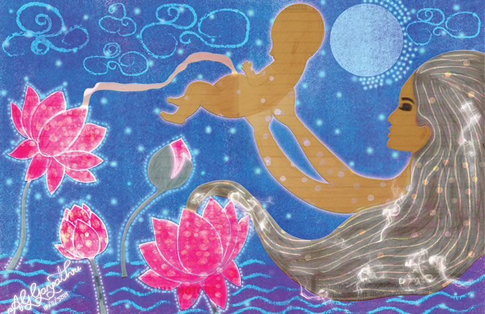 I Create Illustrations That Transform Motherhood Into A Magical And Mystical Journey