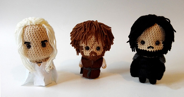 I Crochet Game Of Thrones Characters (Part 2)