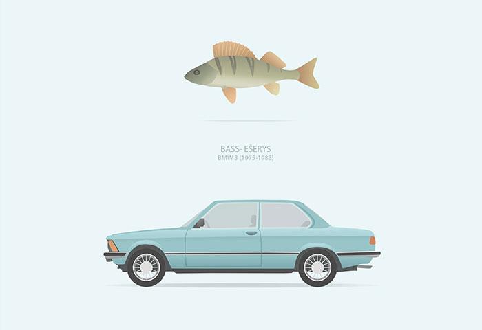 I Illustrated Humorous Lithuanian Slang Nicknames Of Old Cars
