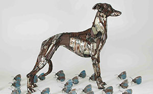 I Recycled Old Bicycles Into A Whippet