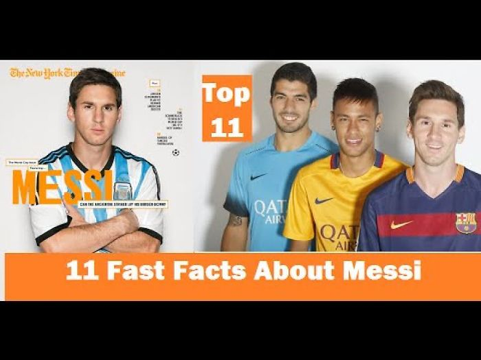 Lionel Messi Fast Facts That You Need To Know