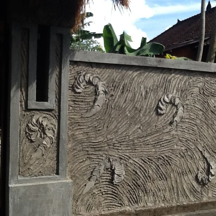 Our Balinese Fence In Sayan Ubud Indonesia ...