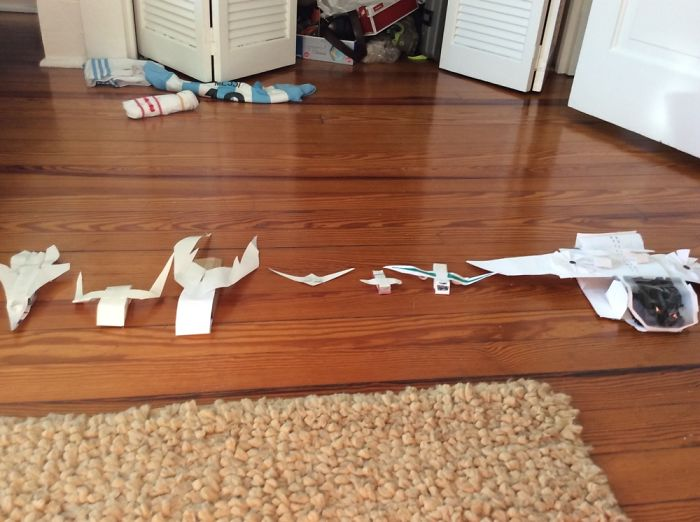 I Make Toy Airplanes Out Of Paper And Cardboard
