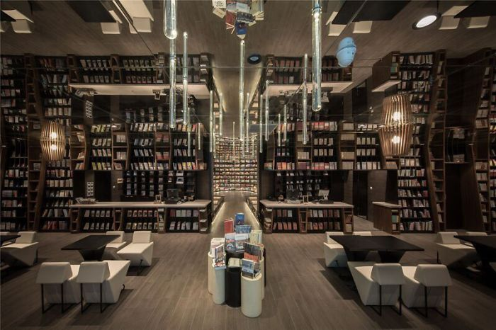 A Bookstore Covering The Space Of More Than 1000 Sq. M. Was Opened In Hangzhou, China