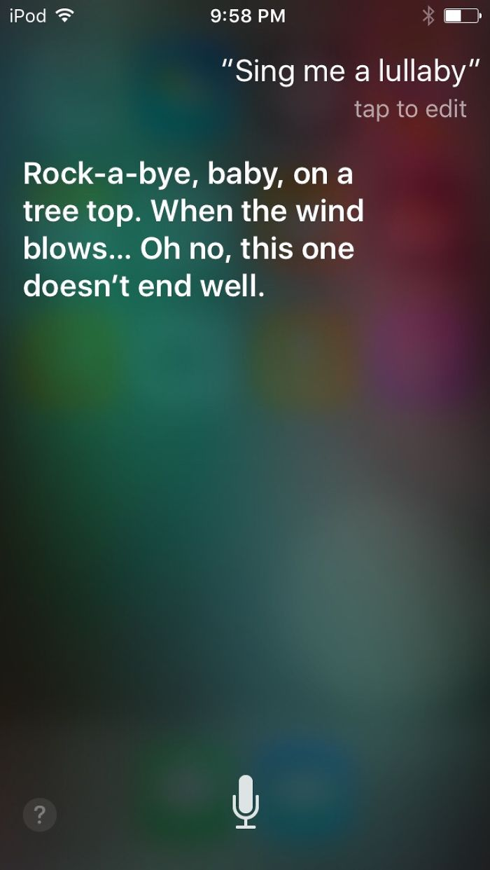 So I Asked Siri Some Questions…