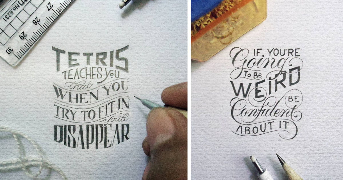 Tiny Letters Tell Brutally Honest Truth And Inspire To Be Yourself