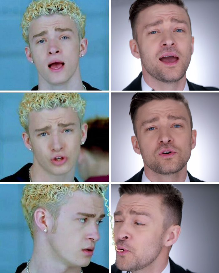 Someone Compared Old Justin Timberlake With New One And Now Everything Makes Sense