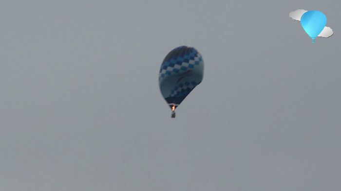 Extreme Decline In Hot Air Balloon