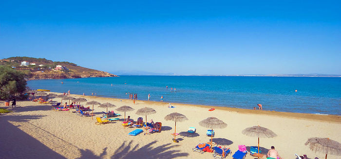 Beaches In Chios Island, Greece