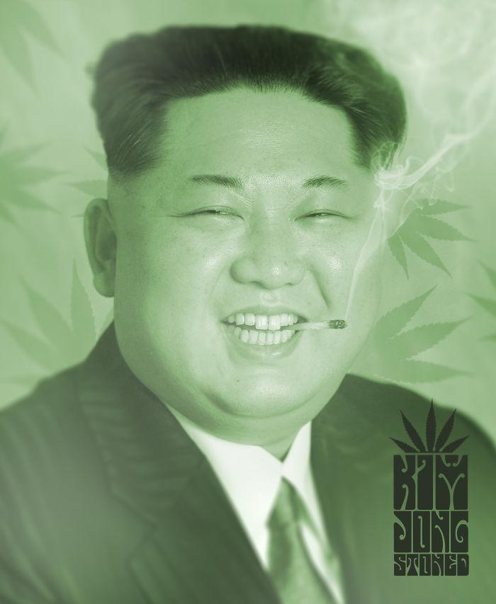 Kim Jong Stoned