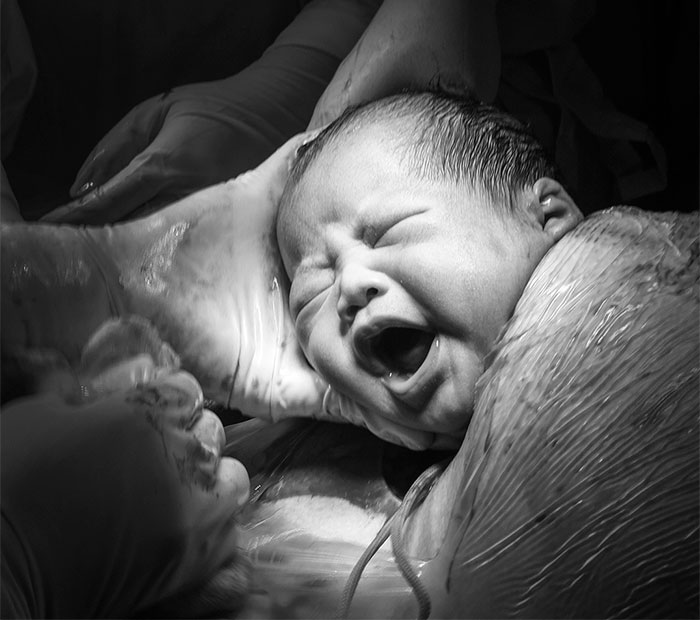 I Have Documented The Birth Of My Daughter For A Project 'Labor Of Love, A Mother's Journey'