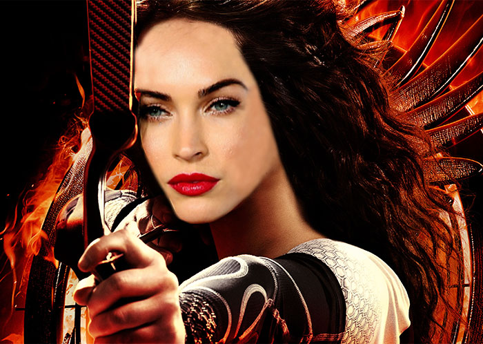 Megan Fox Would Have Been A Very Beautiful Katniss Everdeen In Hunger Games