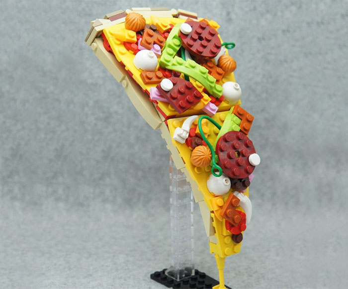 Delicious Lego Art by Japanese Artist